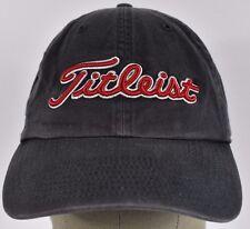 Gray Titleist Golf Embroidered baseball hat cap adjustable strap