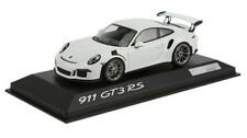 New Genuine Porsche 991 GT3 RS GT3RS White Limited Edition 1.43 Model Car - Rare