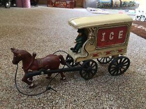 kenton cast iron ice cart