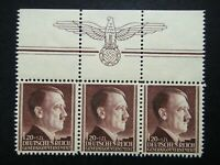 Germany Nazi 1942 Stamp MNH Adolf Hitler 53rd birthday Swastika Eagle Generalgou