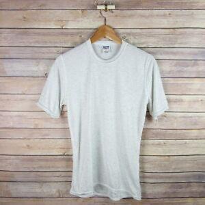 PATAGONIA Men's Capliene Short Sleeve Crew Neck Base Layer Shirt S Small Gray