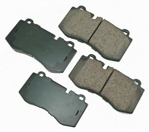 For Mercedes CL550 CL600 S350 S400 S600 Front Disc Brake Pads Akebono Euro