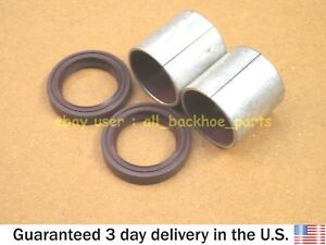 JCB BACKHOE - SHAFT BUSH & SHAFT SEAL, 2 PCS. EACH FOR PARKER HYD. PUMPS REPAIR