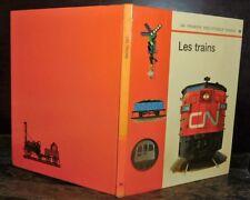 ANCIEN LIVRE . EDITIONS GAMMA . LES TRAINS .1971. PUFFING BILLY ROCKET MALLARD