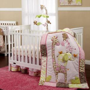 Carter's Jungle Collection 4 pc. Crib Bedding Set