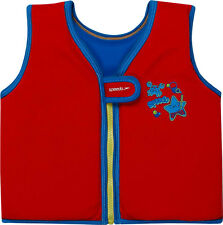 Speedo Sea Squad Swim Vest - Red 4-6 Years