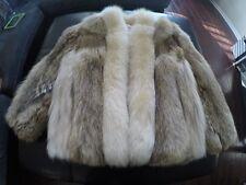Coyote Fur Coat Size Large