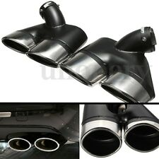 Dual Exhaust Tips Pipe Tip For Mercedes-Benz E320 E220 E240 2002-2007 W211 NEW