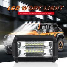 2x 12V/24V 72W LED Work Light Bar Flood Spot Light Driving Lamp Offroad Car SUV