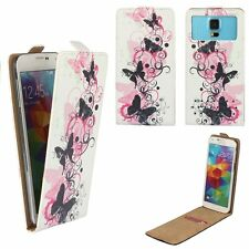 Smartphone FLIP Case For MEDION LIFE X6001 - Butterfly Pink FLIP 4