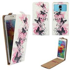 Smartphone FLIP Case For HTC Desire 728G - Butterfly Pink FLIP 4