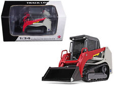 Track Loader Gray/Red 1/34 Diecast Model Car by First Gear