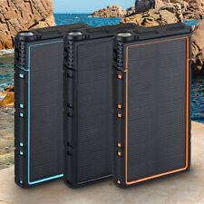 Waterproof Solar Power Bank SUMMER 990000mAh Battery Charger 200M Lumen