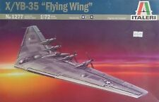 """NEW X/YB-35 """"FLYING WING"""" ITALERI - NO: 1277 - SCALE:1:72 - 71.8CMS WIDE+ DECALS"""