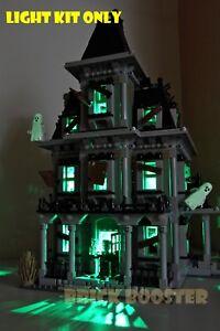 USB Powered LED Light Kit for Lego 10228 Haunted House