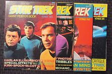 1970's STAR TREK Giant Poster Book #2 3 5 6 FVF 7.0 LOT of 4 Leonard Nimoy