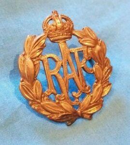 Cap Badge RAF (Brass colour)