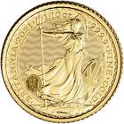 2021 Great Britain Gold Britannia £10 - 1/10 oz - BU