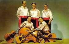 St Louis Missouri Jakovac Tamburica Mariachi Band Guitar Vintage Postcard K17697