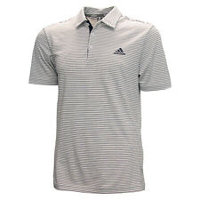 Adidas Golf Men's 2-Color Pencil Striped Polo Shirt,  Brand New