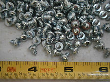 Tapping Screw 6 x 1/4 Phillips Pan Head Type A Steel Zinc Plated Lot of 75 #1182