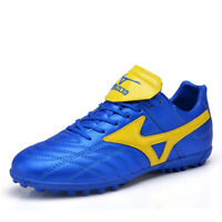 Men Boys Soccer Shoes Indoor Sports Football Trainers Cleats Shoes Sneakers