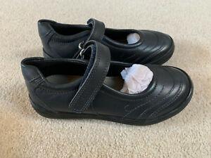 Geox Respira Hadriel girls Mary Jane school shoes   black   size 9   new