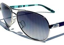 5fdbf084a1 NEW  Oakley FEEDBACK Aviator Chrome w POLARIZED Grey Women s Sunglass  oo4079-07