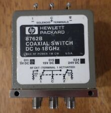 HEWLETT PACKARD Coaxial Switch  DC to 18GHz  8762B 3 Stack