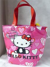 Sanrio HELLO KITTY Lunch Box BAG Thermal Cooler Bags Food Container school lady