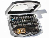 Bit Set  Bit Satz Bitbox für Bosch Hitachi Makita 32-tlg   CR-V