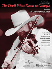 THE DEVIL WENT DOWN TO GEORGIA CHARLIE DANIELS PIANO GUITAR VIOLIN SONG BOOK