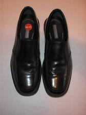 NUNN BUSH MEN'S SIZE 9.5M BLACK LEATHER SLIP ON DRESS CASUAL SHOES