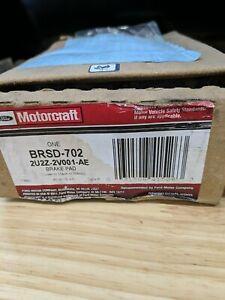 Ford Motorcraft BRSD702 Frt Semi Metallic Brake Pad Set 2U2Z-2V001-AE