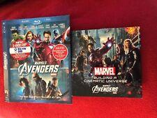 Building A Cinematic Universe Marvel's Avengers Bonus Blu Ray W/ Slip Cover MCU