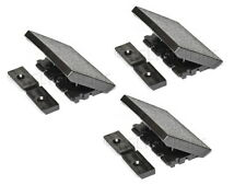 3-Pack of Replacement Latches for Gibson Protector Guitar Case, Black, Les Paul