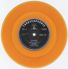 "SUZI CHUNK Got Up And Gone orange vinyl 7"" + MP3 NEW Groovy Uncle funk soul beat"