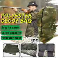 Mesh Decoy Bag Decoy Backpack Decoy Bags Mesh Turkey Goose Duck 1PCS Decoy Bag