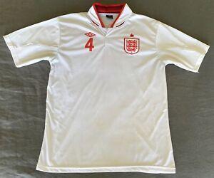 England 2012/13 Football Jersey Replica Steven Gerrard Size XL Excellent Conditi