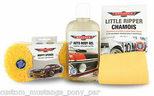 Bowden's Own Car Wash Pack w/ Muffy Chamois Mothers Meguiars Turtle Wax Autoglym