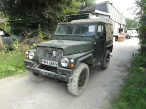 LAND ROVER  SERIES 3 LIGHTWEIGHT  AIRPORTABLE 2.5 NA