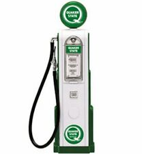 DIGITAL GAS PUMP QUAKER STATE WHITE 1/18 SCALE DIECAST ACCESSORY YAT MING 98801