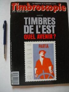 Magazine de la philatélie: Timbroscopie: no. 67 1990 Polaska / Saint Wandrille