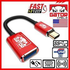 USB 3.1 A Macho Tipo C C USB 3.0 Tipo A Hembra Adaptador Convertidor de Cable Cable OTG