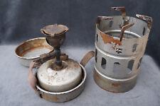 Rare Antique German Field Camp Stove JUWEL`34 Lamp Officer Military Burner~Light