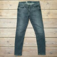 Tommy Hilfiger Ladies Venice LW Skinny Fit Jeans Trousers Grey W28 L32