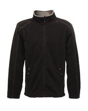 Regatta Standout Adamsville Microfleece Mens Full Zip Jacket - Black XL Trf566 7rb-xl
