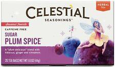 Sugar Plum Spice Holiday Tea by Celestial Seasonings, Pack of 2