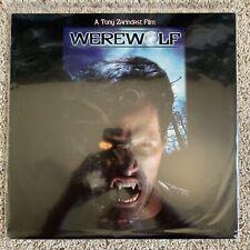 Werewolf Laserdisc - Tony Zarindast Film - ULTRA RARE HORROR