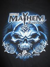 2008 1st Annual Mayhem Festival (Med) T-Shirt Disturbed Five Finger Death Punch